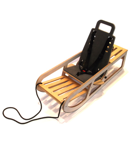 Cerebra Sledge, sled for children with disabilities. CNC, spray, pack and despatch.